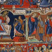 David And Saul Art Print