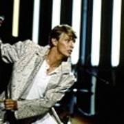 David Bowie Action Man Art Print