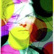 David Bowie Futuro  Art Print