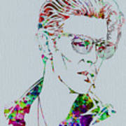 David Bowie Art Print by Naxart Studio