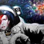 David Bowie, Star Man Art Print