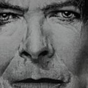 David Bowie - Eyes Of The Starman Art Print