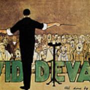 David Devant Poster C1910 Art Print