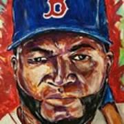 David Ortiz Art Print