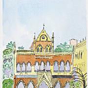 David Sasson Library Mumbai Art Print