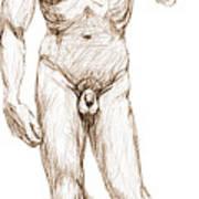 David Sketch Art Print