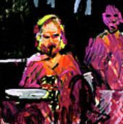 David Wingo On Stage Art Print