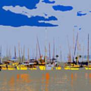 Davis Island Yachts Art Print
