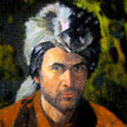 Davy Crockett Art Print