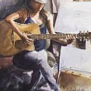 Dawb Leej - Studio Serenade Art Print