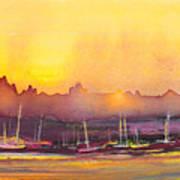 Dawn 10 Art Print