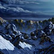 Dawn At Eagle's Peak Art Print