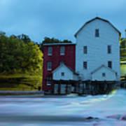 Dawn At Phelps Mill Art Print