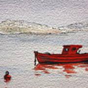 Dawn Fishing Art Print