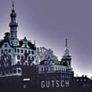Dawn In Lucerne Art Print