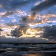 Dawn Of A New Day Treasure Coast Florida Seascape Sunrise 138 Art Print