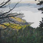 Dawn Over Eagle Nest Lake Art Print