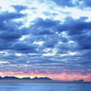 Dawn Over False Bay 2 Art Print