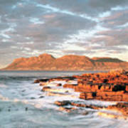 Dawn Over Simons Town South Africa Art Print