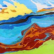 Day At The Beach #7 Art Print