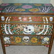 Day Of The Dead Dresser IIi   Art Print