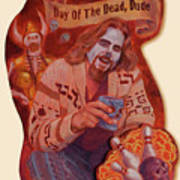 Day Of The Dead Dude Art Print