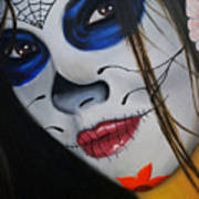 Day Of The Dead Girl Print by Alex Rios