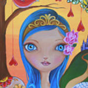 Day Of The Dead Princess Art Print