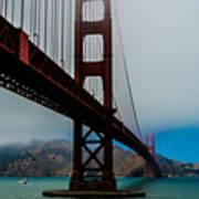 Daybreak At The Golden Gate Art Print