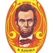Dayglow Lincoln Art Print by Harry West
