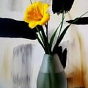Daylily Abstract Art Print