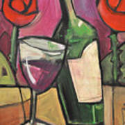 Days Of Wine And Roses Art Print
