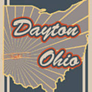 Dayton Ohio Art Print