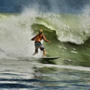 Daytona Beach Surfing Day Art Print