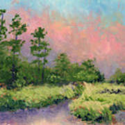 Daytona Pines Art Print
