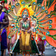 Dc Caribbean Carnival No 15 Print by Irene Abdou