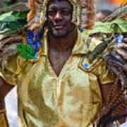 Dc Caribbean Carnival No 21 Art Print by Irene Abdou