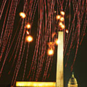 Dc Fireworks Art Print