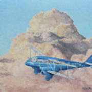 de Havilland Dragon Rapide Art Print
