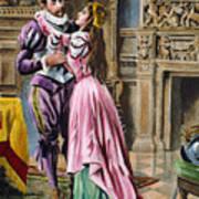 De Soto & Isabella, 1539 Art Print