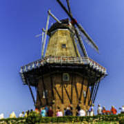 De Zwaan Windmill In Holland Art Print
