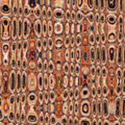 Dead Agave Stump Abstract Art Print
