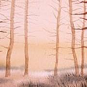 Dead Forest Art Print