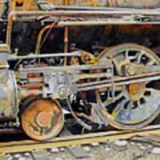 Dead In Its Tracks Art Print