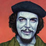 Dead Red - Che Art Print
