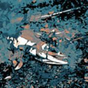 Dead Salmon 3 Art Print