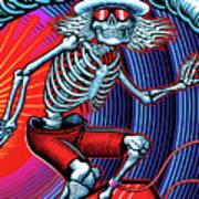 Deadhead Surfer Art Print