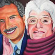 Dean And Frances Art Print