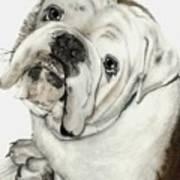 Dean' Buddy Art Print