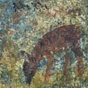 Dear Or Deer Being Hunted Art Print